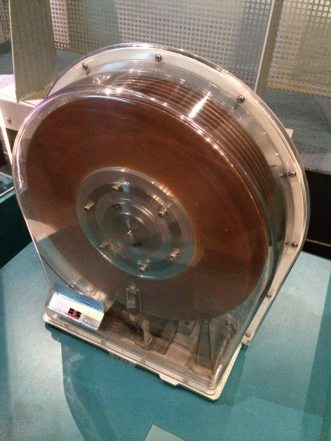 Old Ten-fold IBM disc