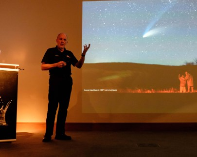 Professor Mark McCaughrean talks about previous comets