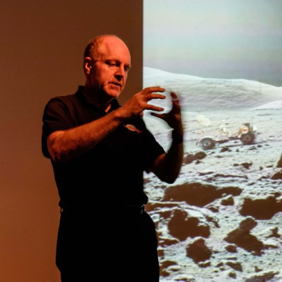 Professor Mark McCaughrean talks about the Moon landings