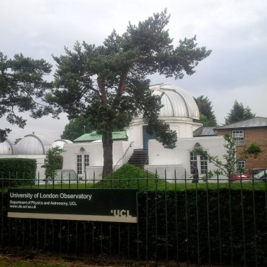 Exterior of the University of London Observatory, Mill Hill