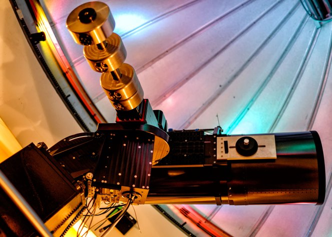 The Celestron C14 which helped to discover Supernova SN2014J