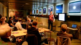 Brian Hosts the Radio Astronomy Group Meeting