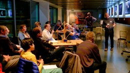 04 Clive presents to the Radio Astronomy Group