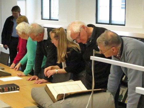 "Some of the Flamsteed group look closely at Bradley's ""Greenwich Observations"""
