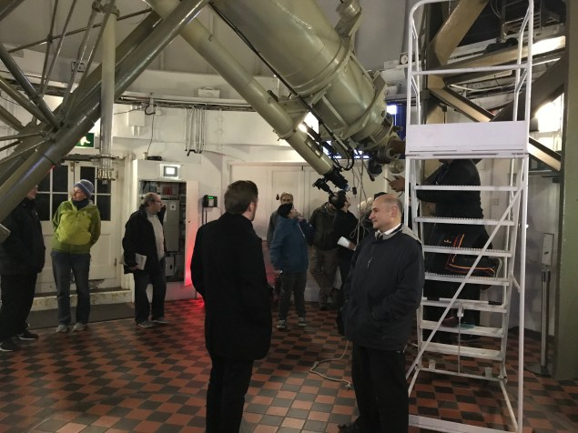 Flamsteed viewing with the Great Equatorial Telescope - 31 October 2017