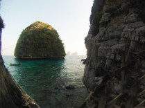 Take the path from Maya Beach all the way back to find Loh Samah Bay.