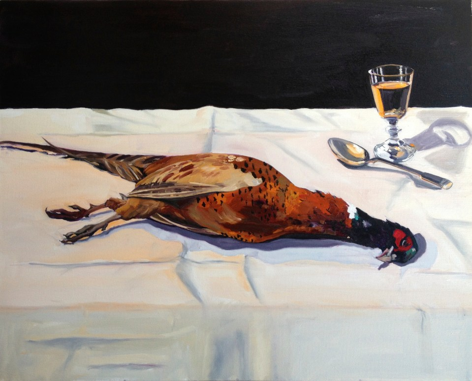 'A Pheasant, Spoon And A Glass Of Marsala Wine'