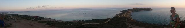 Vista panorámica desde la Torre española