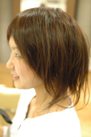 カットカラー 横浜市、青葉区、藤が丘、美容室、フラップヘアー