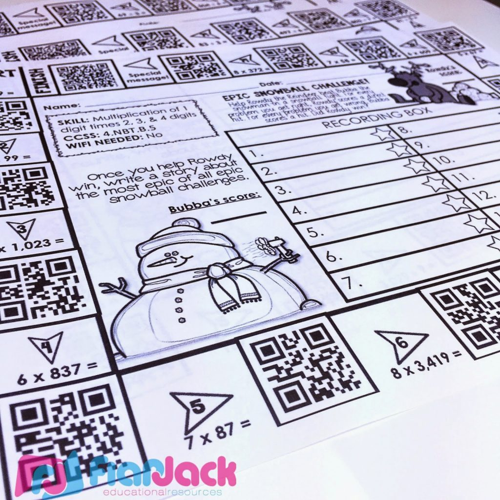Holiday Qr Code Printables Sample Freebie And Resource