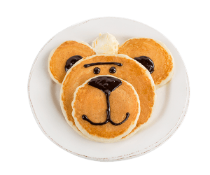 Kids Bear Pancake