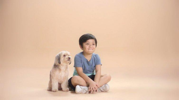 Kids Vs. Dog