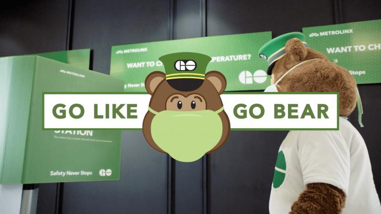 Metrolinx-SNS – GO Like GO BearHealth & Safety Kiosk