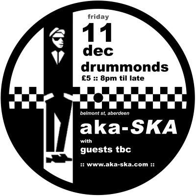 aka-SKA Cafe Crummonds Dec 11th