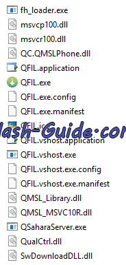 qfil files - Elephone U Pro