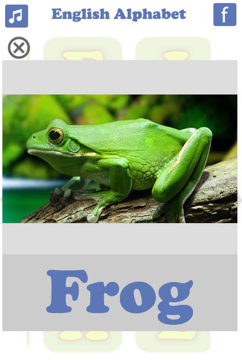تعليم الحروف الانجليزية Frog