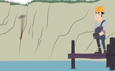 الحطاب وحارس البحيرة
