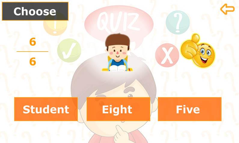 انجليزي الصف الأول-امتحان-Quiz