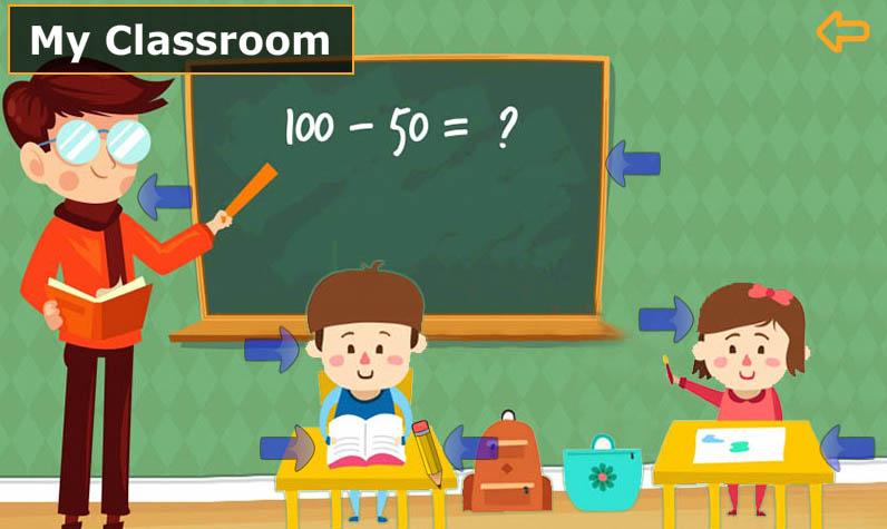 انجليزي-الصف-الأول-مكونات-الفصل-الدراسي-Classroom