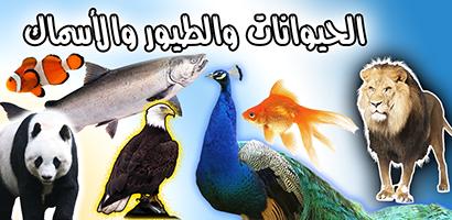حيوانات طيور واسماك اصوات الطيور والحيوانات - تطبيق اندرويد - 400