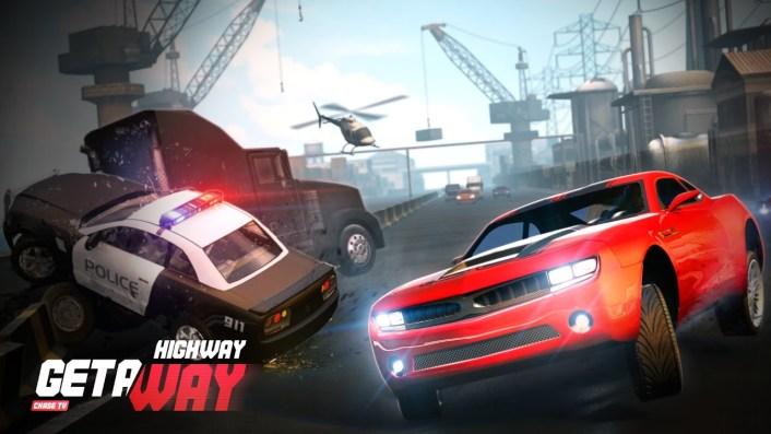 Highway Getaway-مطاردة الشرطة-العاب اطفال