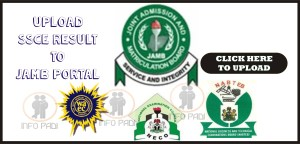 How to upload olevel result to jamb portal