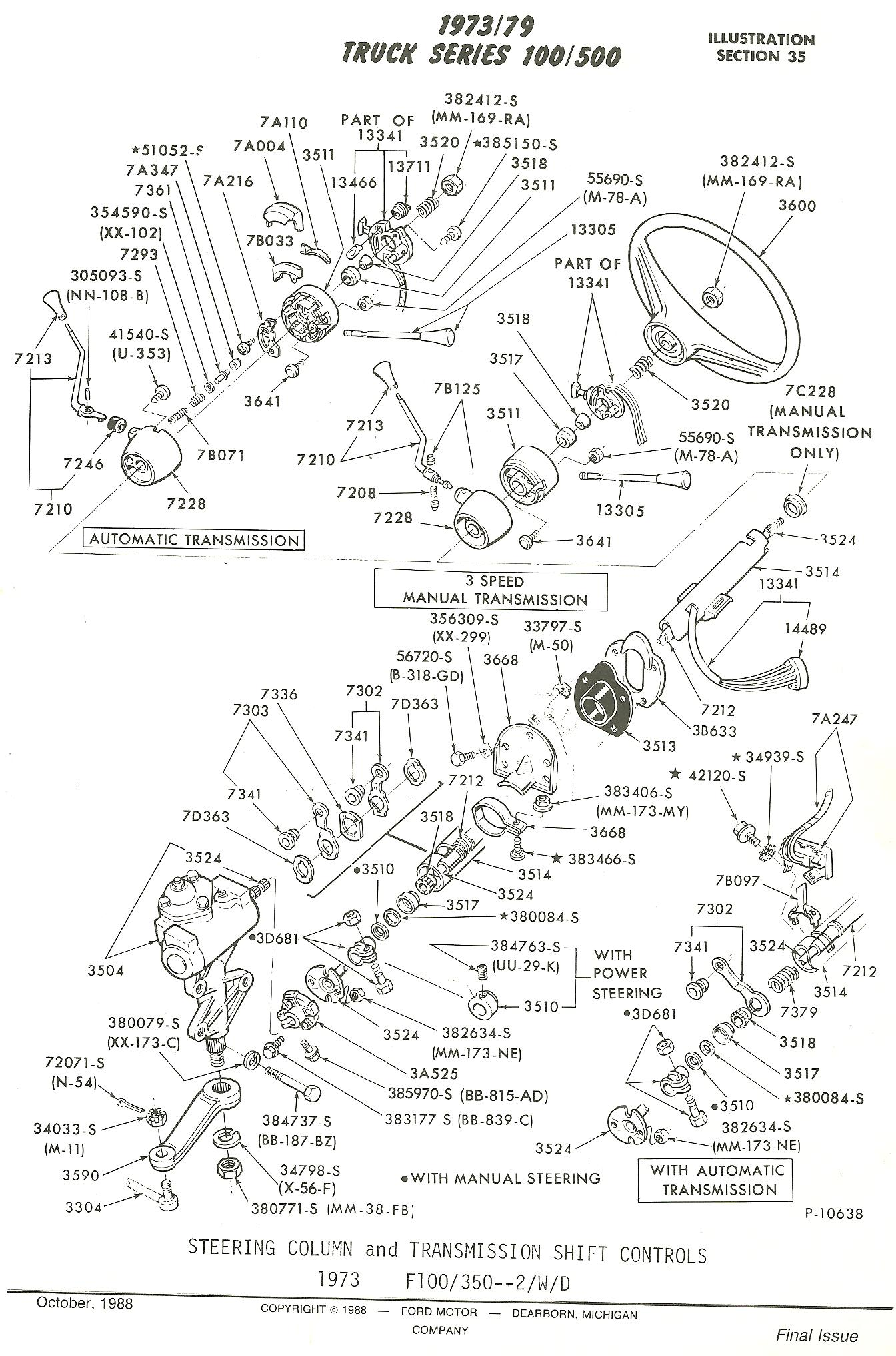 ford f 150 column shifter diagram