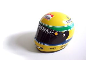 Replica of Ayrton Senna's helmet