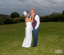 Sussex wedding photography Paul and Debbie looking into each other's eyes located in our Sussex Wedding Gallery