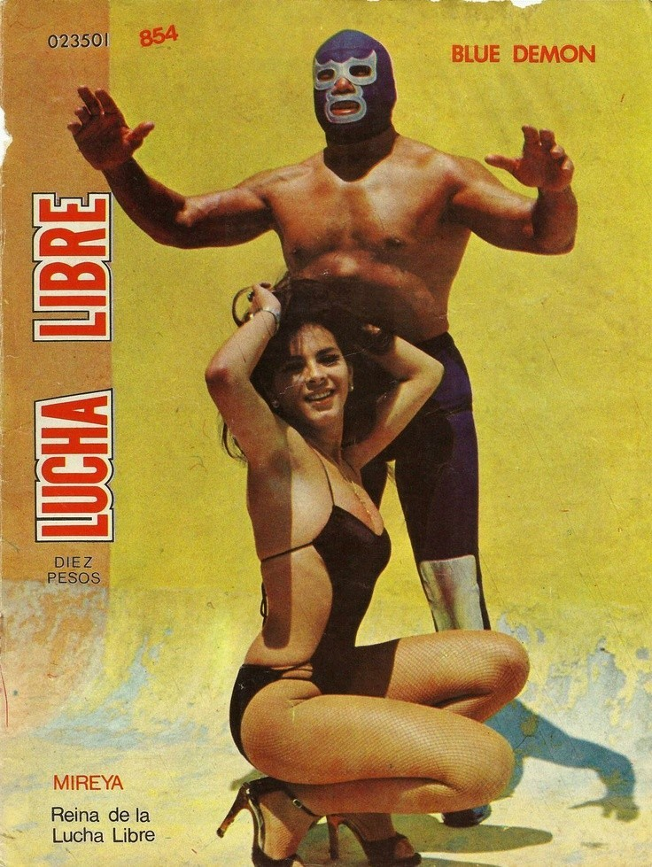 Lucha Libre Magaine Covers Of The 1970s Flashbak
