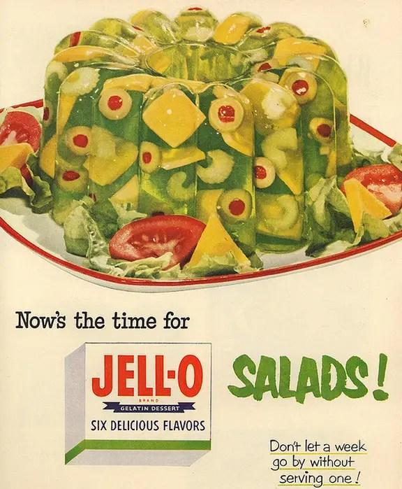 Resultado de imagem para jello molds 1960s