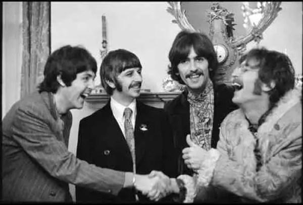 'The Beatles at Brian Epstein's House' - Linda McCartney, London, 1967