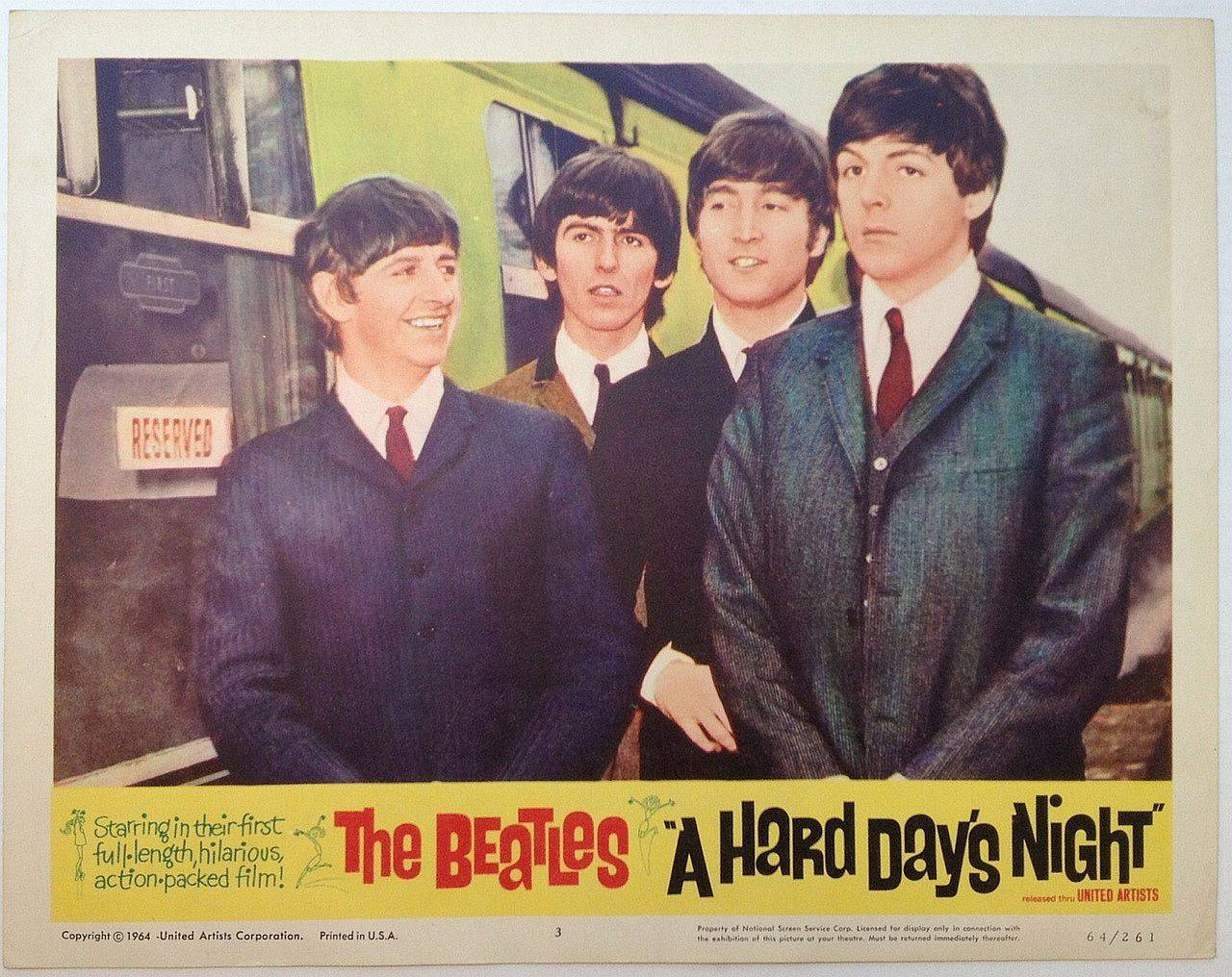 Image result for a hard day's night 1964 movie