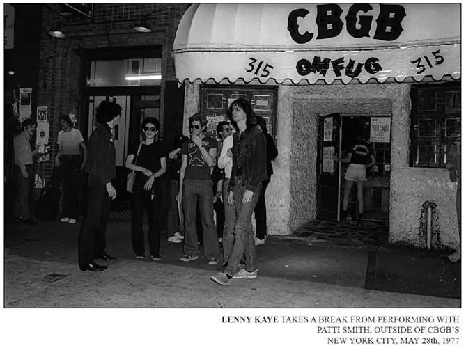 Lenny Kay May 28 1977