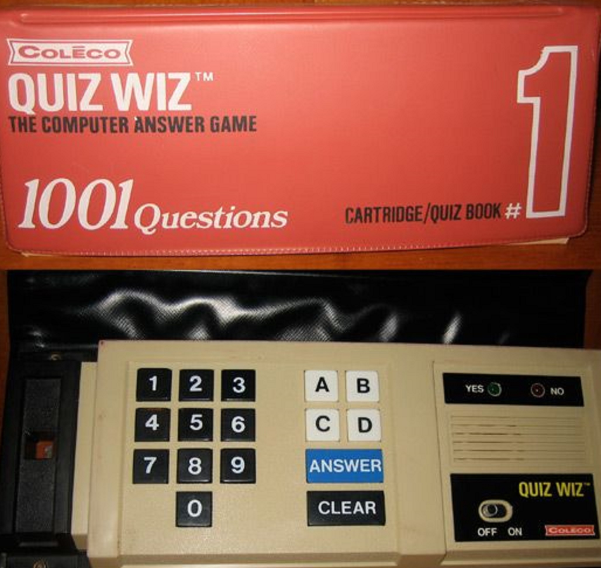 Who Remembers Coleco S Quiz Wiz