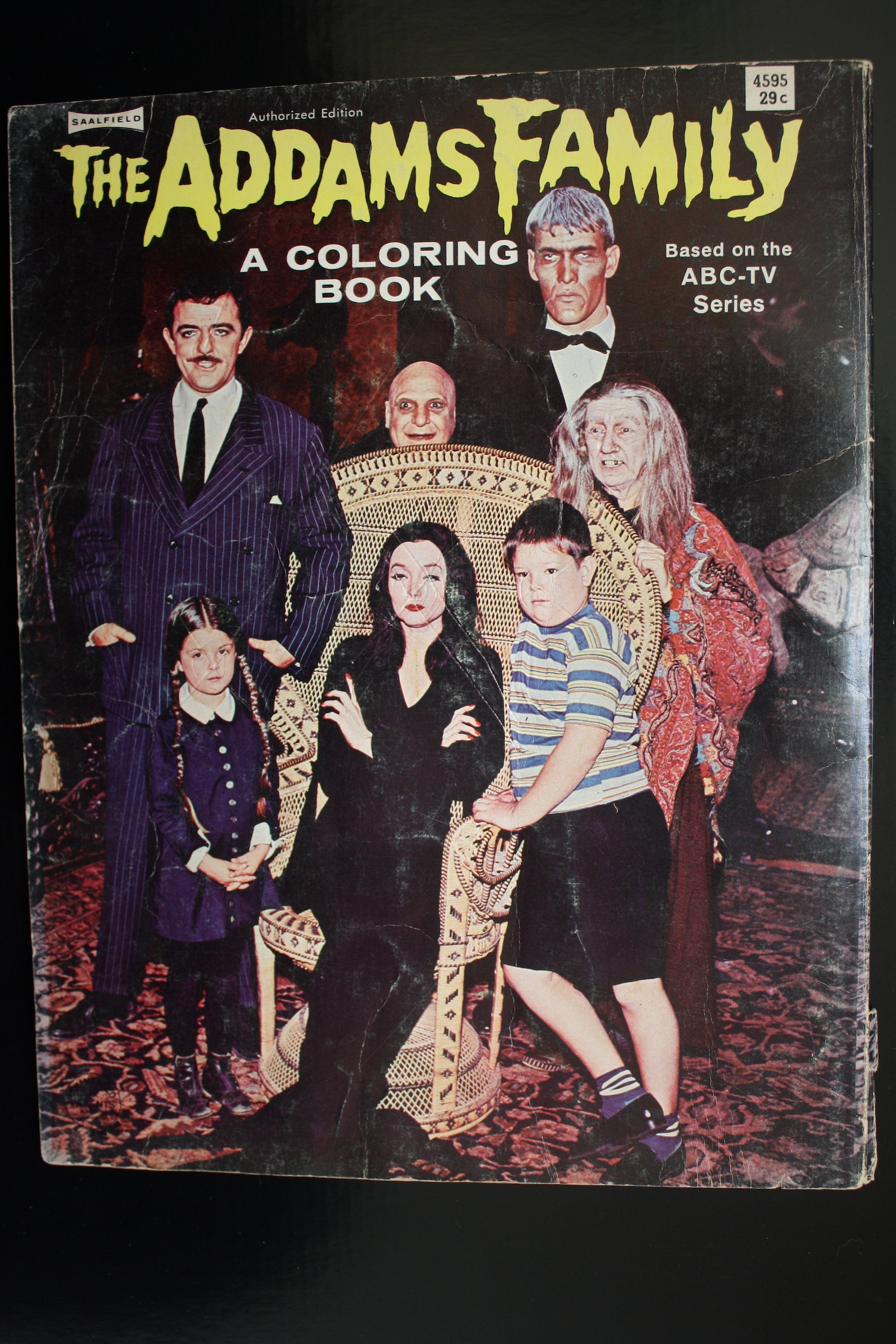 The Addams Family A Coloring Book 1965 Flashbak