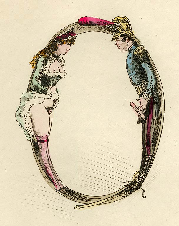 Erotic alphabet 19th Century