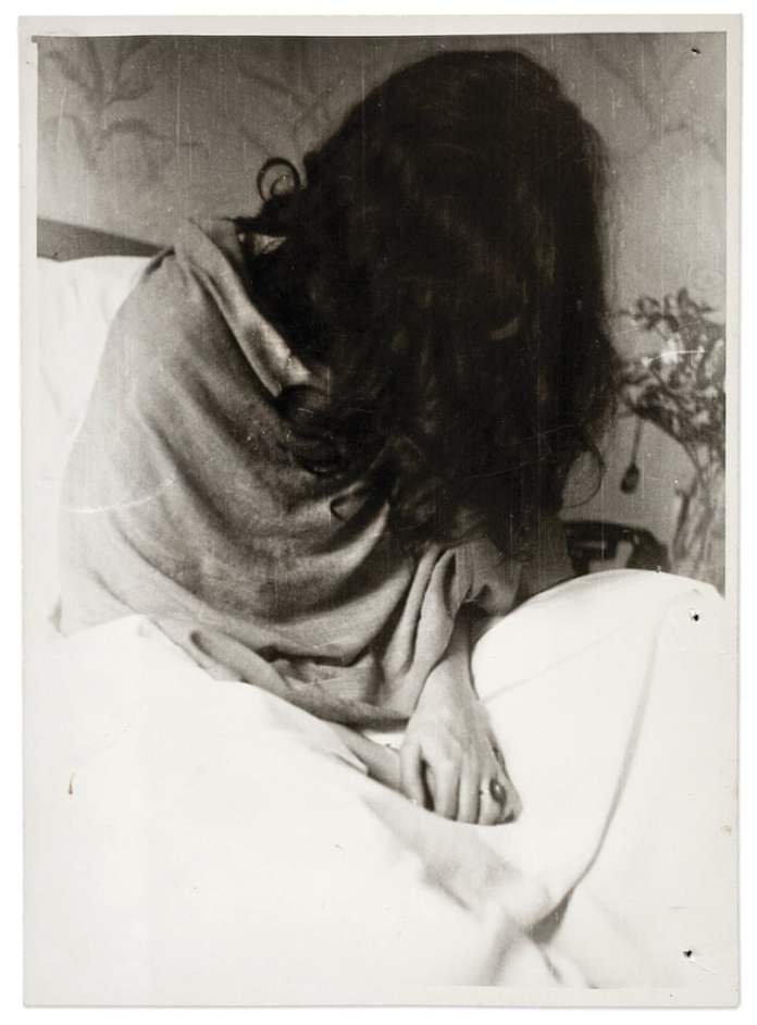 Фрида в нью-йоркской больнице Николаса Мурая, 1946.