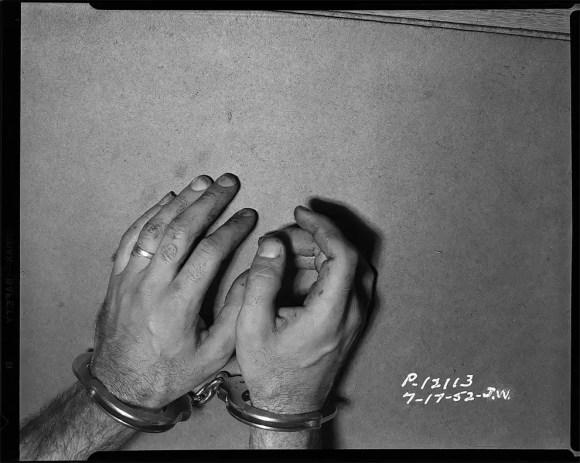LAPD photographs crime murder