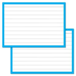 Blue Leitner Flashcards A7