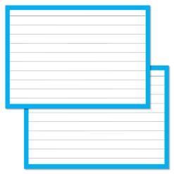 Blue Leitner Flashcards A7