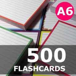 Create your bundle - A6 flashcards
