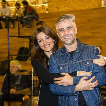 Designer Camilla D'Anunziata e Matheus Silveiro