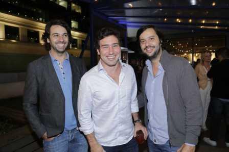 Emiliano Beirute, Iquinho Facchini e Rick Fleury