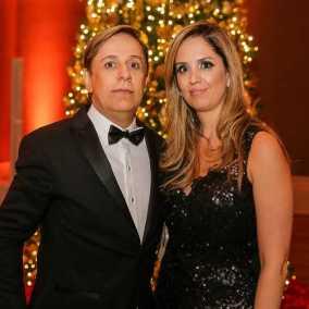 Tom Cavalcante e esposa