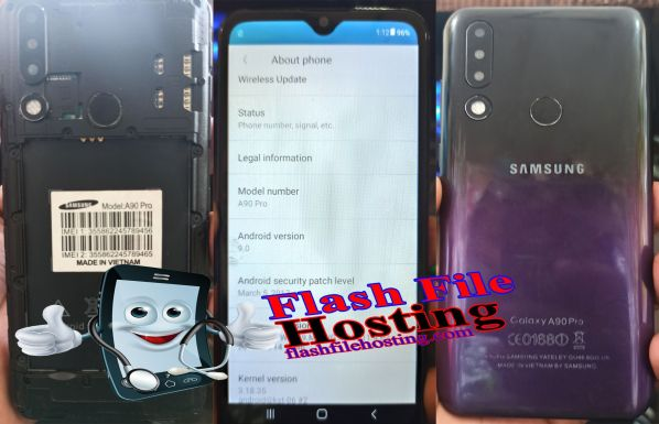SAMSUNG A90 Pro Clone Flash File [Hang Logo Dead Recovery LCD Fix Firmware]100% Tested