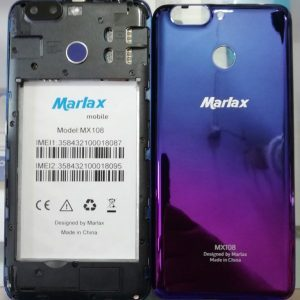 Marlax MX 108 Flash File [Hang Logo Dead Recovery LCD Fix Firmware]100% Tested