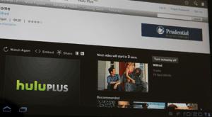 Stream Hulu on the Nexus