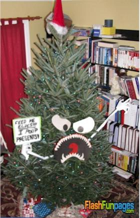 Creative Christmas Trees Ecards For Facebook