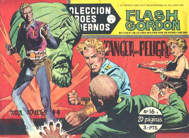 FLASH GORDON N.16 DE HEROES MODERNOS DOLAR SERIE B